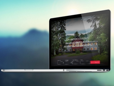 Site internet Couvent Val‑Morin