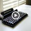 Un clavier «Machine à écrire»